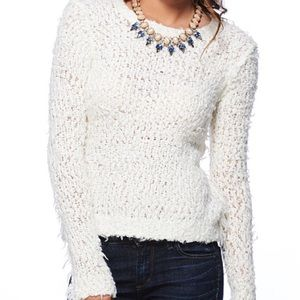 """Free people fuzzy """"September song"""" sweater"""